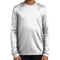 Sport Tek YST350LS Youth Long Sleeve Competitor™ Tee Thumbnail