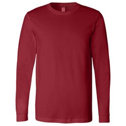 Bella 3501 Adult Long Sleeve Jersey Tee Thumbnail